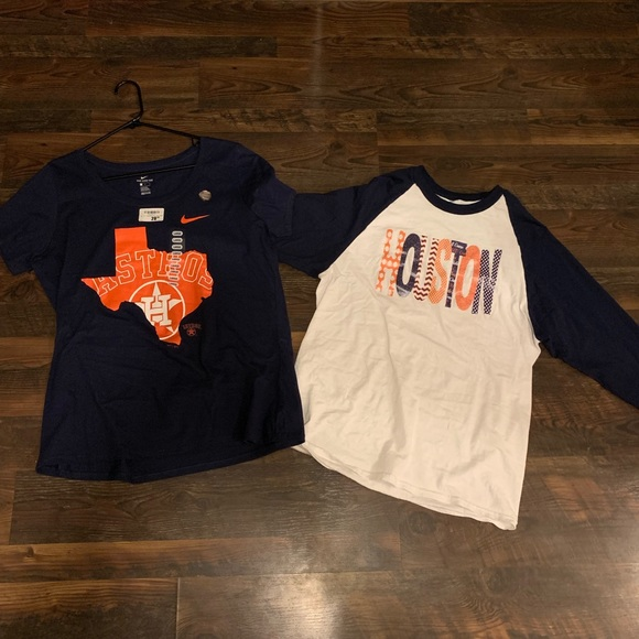 newest d50d7 67d7c Houston Astros shirts and hoodie bundle NWT